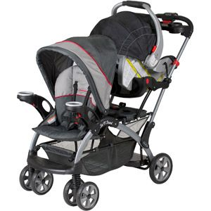 Baby Trend Sit N Stand Ultra Double Stroller Graphite