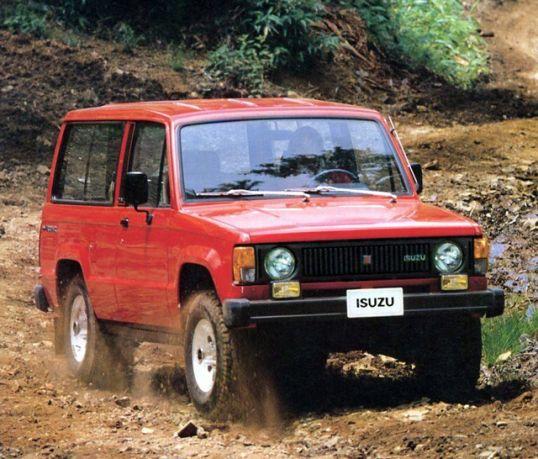 Isuzu Trooper Ii 2 Door 1983 86 In 2020 Trooper Suv Jeep