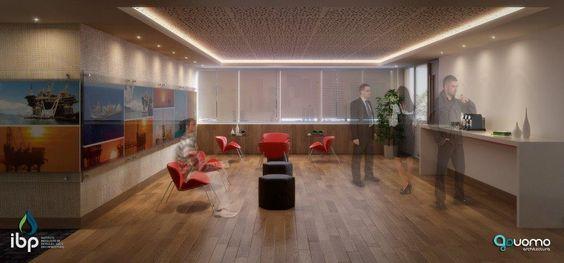 Projeto em 3D. Cliente: IBP. #arquitetura #arquiteturacorporativa #3D