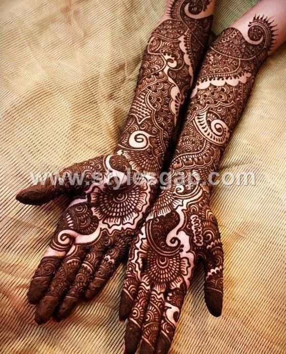 Latest Dulhan Mehndi Design 2021