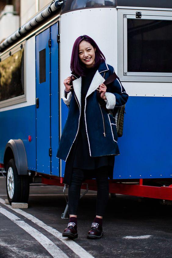 On the street… Kim Yeji Seoul