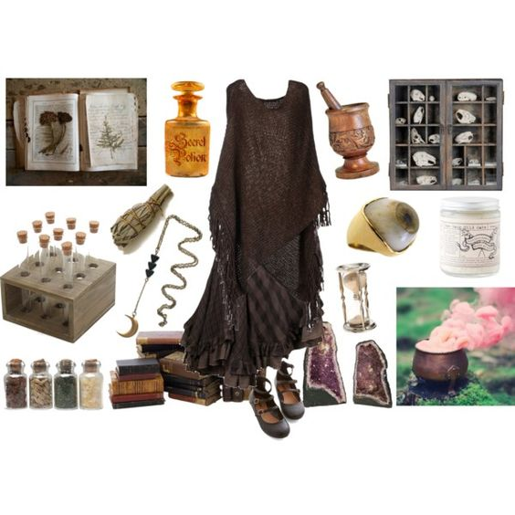 Potion Master by maggiehemlock on Polyvore featuring мода, Pinko, Nicholas K and Match