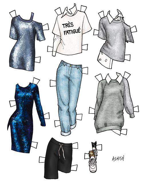 Danielle Meder » paper dolls