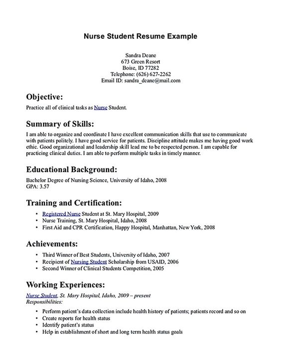 nursing student resume nursing student resume must contains    level nursing  grad nursing  resume nursing  nursing school  student resume  resume samples  jethwear resume  experienced nursing  resume experienced