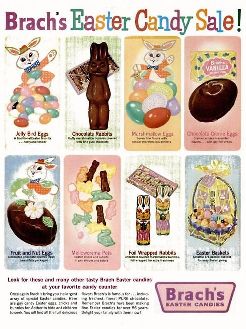 Brach's Easter Candy, 1961