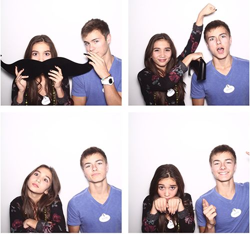 Rowan Blanchard and peyton meyer kiss