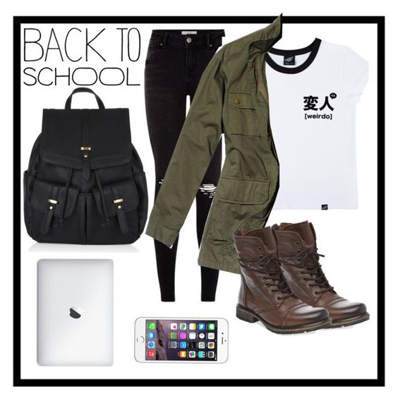 """""""BACK TO SCHOOL OUTFIT IDEAS #3"""" by eleaanorsmith ❤ liked on Polyvore"""
