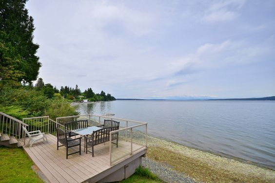 Chemainus Vacation Rental #402175 BeachHouse.com Rent Me! Vancouver Island 3 Bedroom Ocean View and Beach Front House in Chemainus BC