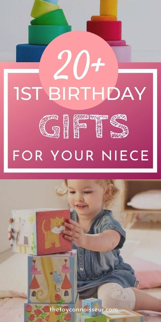 1st Birthday Gift Ideas For Niece Is Your Niece About To Turn One Check Out These Awesom 1st Birthday Gifts Birthday Gift Idea Boys Best First Birthday Gifts