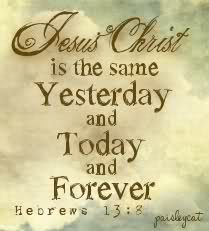 Jesus Is The Same Yesterday Today And Forever Craft