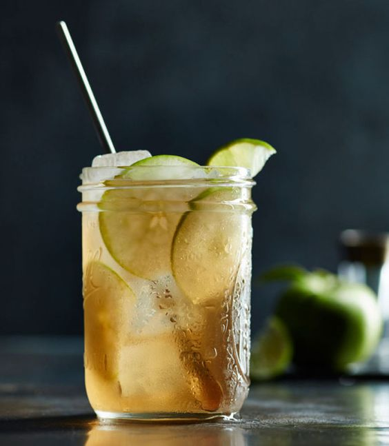 This apple moonshine cocktail recipe comes courtesy of Erin - bar manager