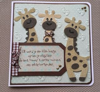 Maria's+kaartjes:+Giraffen