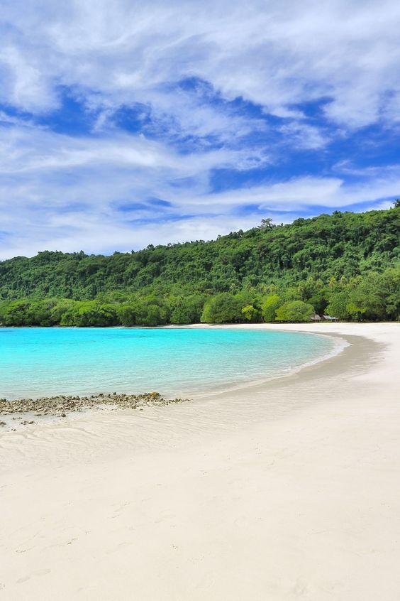 Playas hermosas de Océano Pacífico