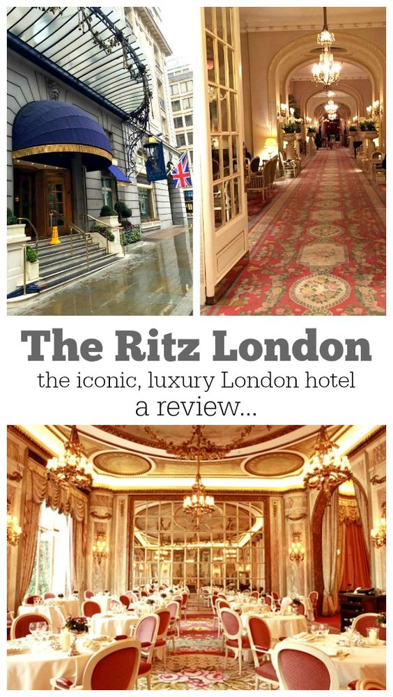 Sharing a review of this iconic, historical hotel:  The Ritz London