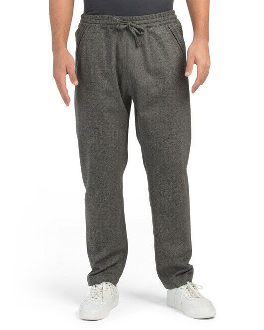 Details about  /BILLY REID Stanton Wool Blend Modern Joggers Size S $295 Sage NWT