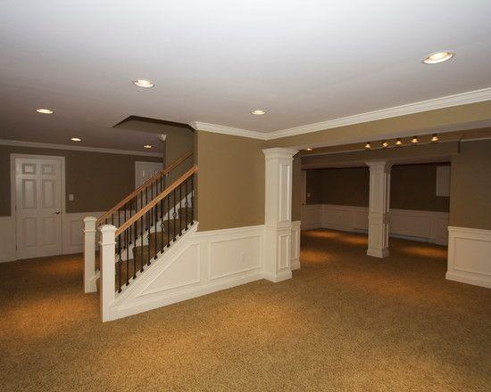 Best Basement Design Top Half Of The Walls Needs A Different 400 x 300