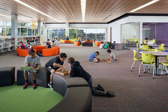 School in San Diego - Design 39 Campus: