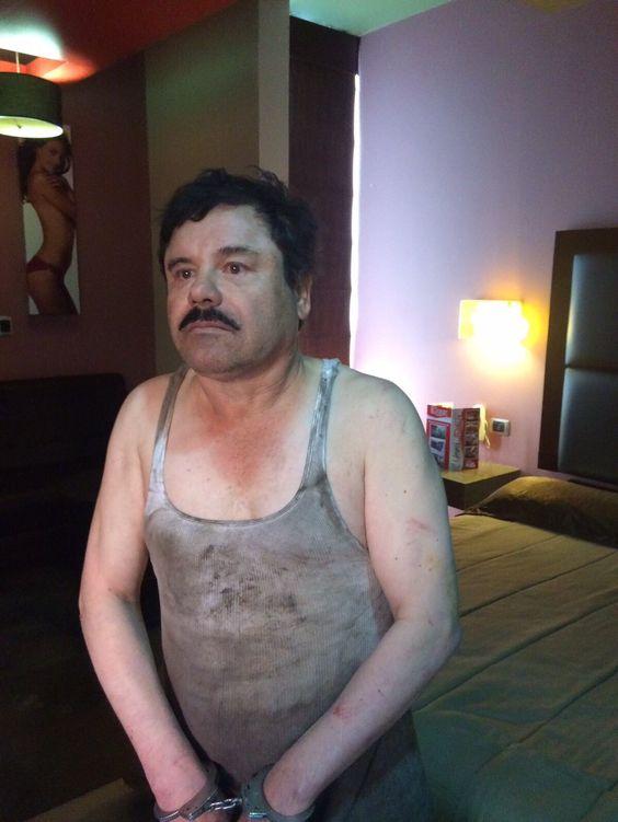 Primeras imágenes circulan en medios tras recaptura de 'El Chapo' Guzmán ~ Nueva Mentes