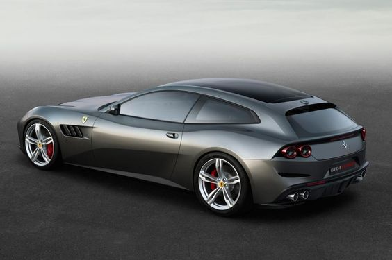 The 2017 FerrariGTC4 Lusso Is Your Improved Ferrari FF