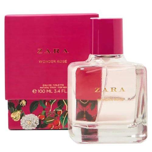 Zara Wonder Rose Edt Perfume Perfume Bottles Zara