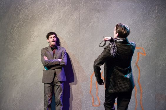 Fabian - The transition to the dogs by Erich Kästner in a version of the theater  director Peter Kleinert