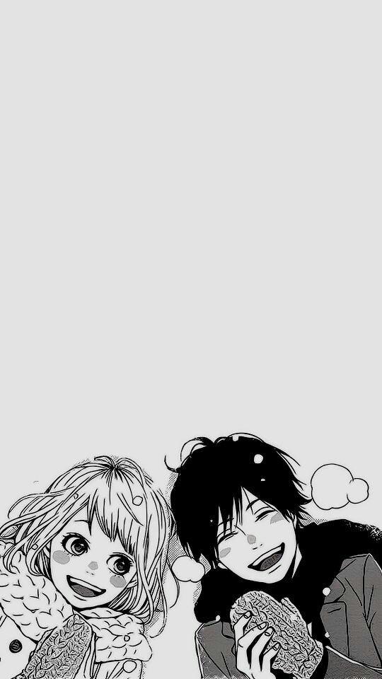 60 Cute Love Couple Phone Wallpapers Anime Orange Anime Orange Wallpaper Cute anime manga wallpaper