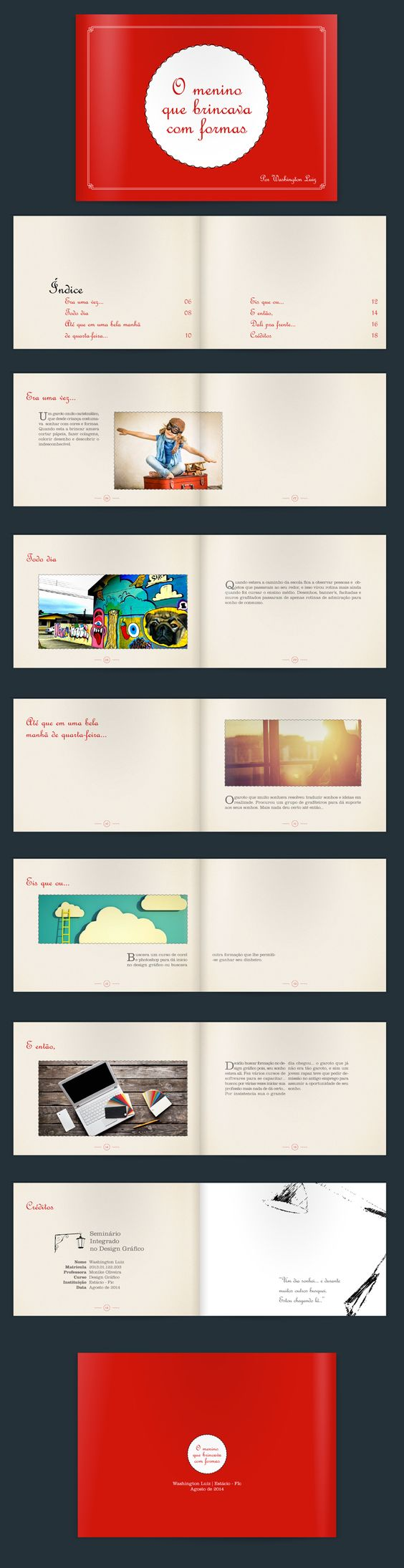 Livro desenvolvido para o curso de design gráfico da Estácio do Ceará. Imagens coletadas livremente na internet para uso ilustrativo.