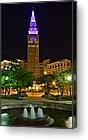 Teminal Tower was purple May 10th for World Lupus Day! (picture by friend, Robert Harmon): Picture, Friend Robert, Teminal Tower