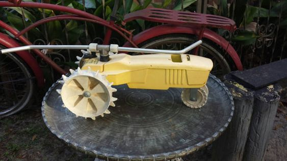 Classic Nelson tractor sprinkler by TravelingRosminis on Etsy