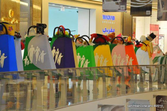 Shopping Bags, Dubai Shopping Festival - UAE  #mascot #costume #characters #shopping #festival #UAE