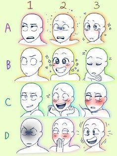 Resultat De Recherche D Images Pour Expression Drawing Meme References Drawing Meme Drawing Expressions Drawing Face Expressions