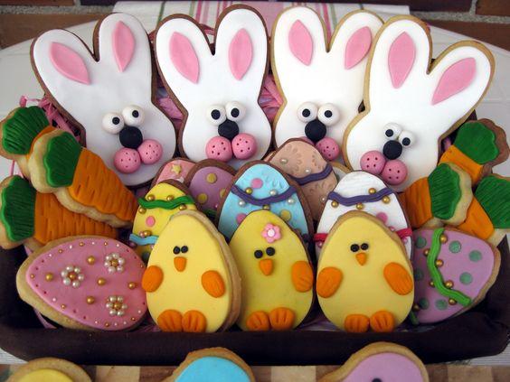 Galletas de Pascua.
