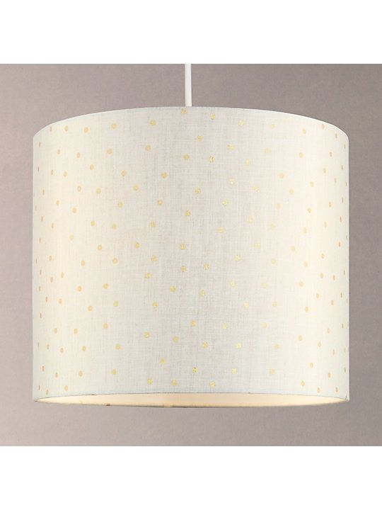 John Lewis Partners Olivia Gold Spot Lampshade Natural Blue Lamp Shade Ceiling Lamp Shades Pink Light Shades