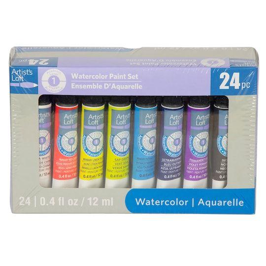 Watercolor Paint Set By Artist S Loft 24 Pieces Michaels Paint Set Watercolor Paint Set Watercolour Painting