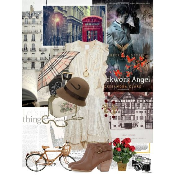 """Book Review: Clockwork Angel by Cassandra Clare"" by bittersweet89 on Polyvore"