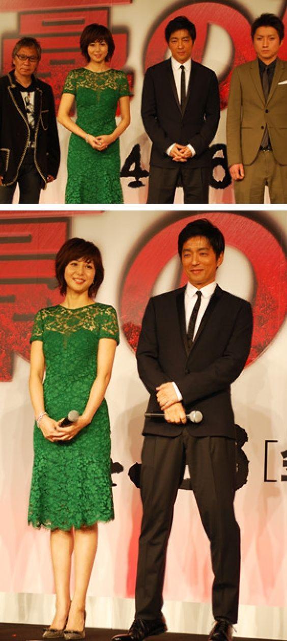 大沢たかお「こんな日本映画は見たことがない」、松嶋菜々子「子供を持つ身として共感」映画『藁の楯 わらのたて』完成報告会見