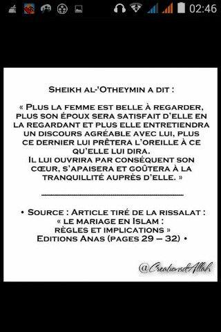 Rappels Méditations, Islam Rappel, Citations Diverses, Femme Ta, Mariage En, Pieux Prédécesseurs, Très Beau, Aime Mon, Savants