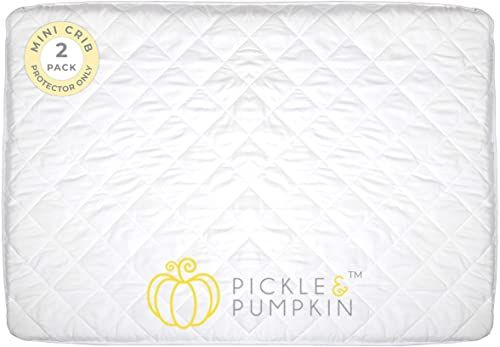 Buy Pickle Pumpkin Waterproof Pack N Play Mattress Cover Soft Fitted Mini Crib Mattress Protector Waterproof Graco Pack N Play Mattress Playard Portabl In 2020 Pack N Play