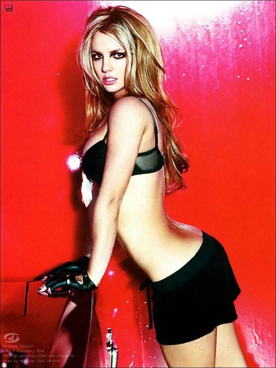 Britney Spears photographed by Ellen von Unwerth