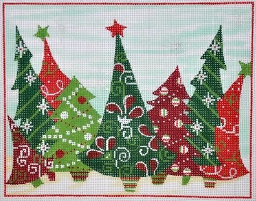 Crazy Christmas Trees In 2020 Christmas Quilts Quilt Inspiration Quilts