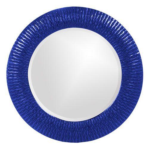 Bergman Royal Blue Small Round Mirror