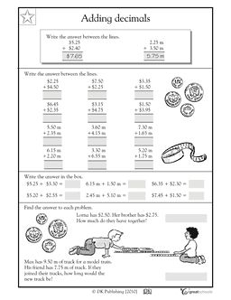 Printables 5th Grade Math Worksheets Printable money what is this and adding decimals on pinterest worksheets activities free printable math