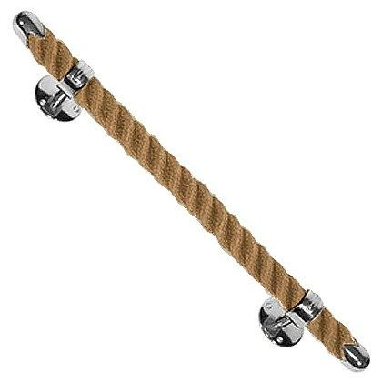 Spice up the bathroom or kitchen with this fantastic #rope towel bar. Perfect for a #cottage styled home.