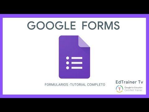 Cómo Usar Formularios Google Tutorial Gsuite Formularios Youtube En 2020 Formularios Google Aplicaciones Para Educación Estrategias De Enseñanza Aprendizaje