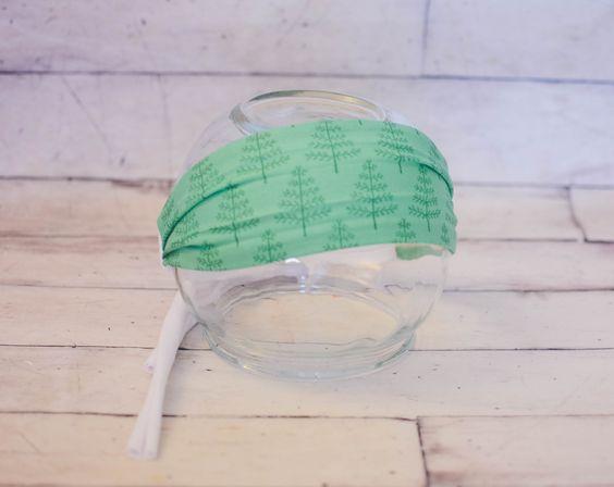 Happy Trees Tieback Headband by ThePaintedAntlerBand on Etsy https://www.etsy.com/listing/211185998/happy-trees-tieback-headband