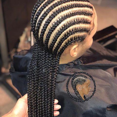 10 Feed Ins Charlottebraider Greensborobraider Ncbraider Cornrowkilla Braidsbychinia Hair Styles Braided Hairstyles African Braids Hairstyles