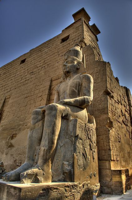 From Luxor Temple 1400 BCE in Luxor, Egypt. #Sight... - #BCE #Egypt #Luxor #Sight #temple
