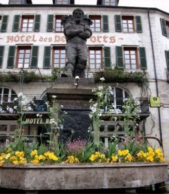 Fontaines du Vigneron à #Salins-les-Bains #39 #39110 http://bit.ly/xdL8ZS