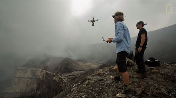Multiple Camera Drones Were Lost for This Imagery of a Volcano's Insides