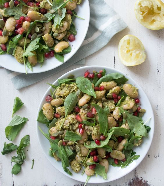 Pesto Butter Bean Salad